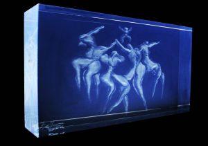 Zoe Yin, Phillips Academy, Andover, USA, Laser Sculpture, 2017
