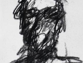 Charcoal abstract, Zoe Yin, Phillips Academy, USA, 2018