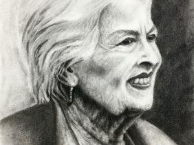 Charcoal Sketch, Zoe Yin, Phillips Academy, USA, 2019