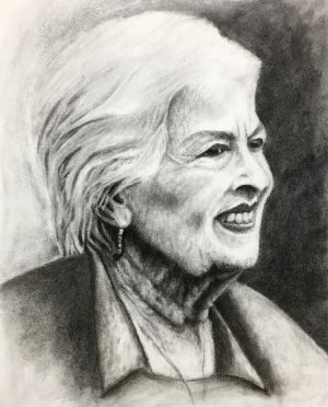 Charcoal Sketch, Zoe Yin, Phillips Academy, USA, 2019